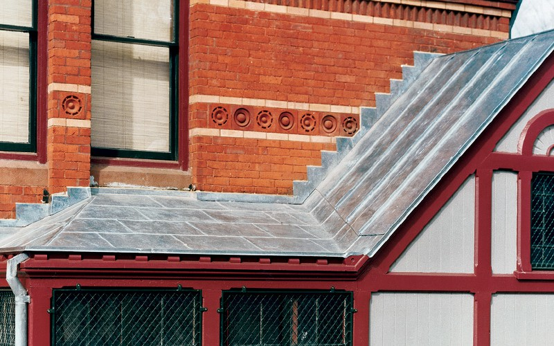 Clipped Gable Roof